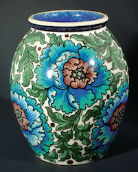 Burmantofts Faience Anglo-Persian vase