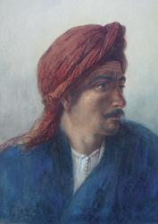 Elijah Walton (1833-1880), Souliman, Cairo