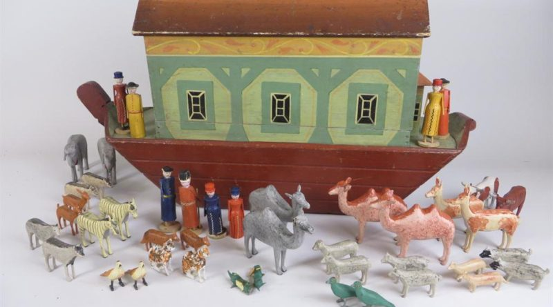 A German Noah's Ark that sold at Brightwell auctions
