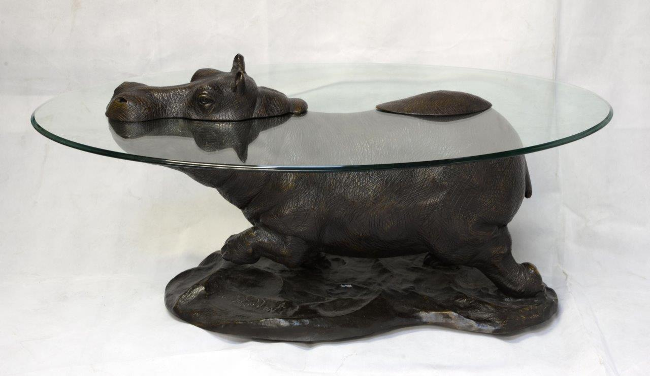 Mark Stoddart hippo table