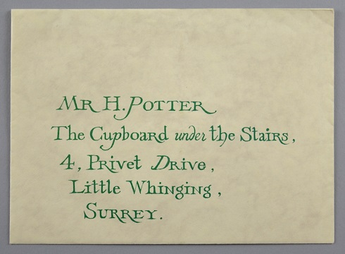 An example of the Harry Potter memorabilia in the Surrey sale