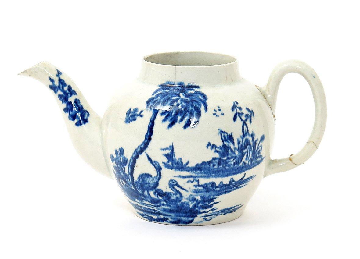18th Century John Bartlam Teapot Sells For 163 460 000