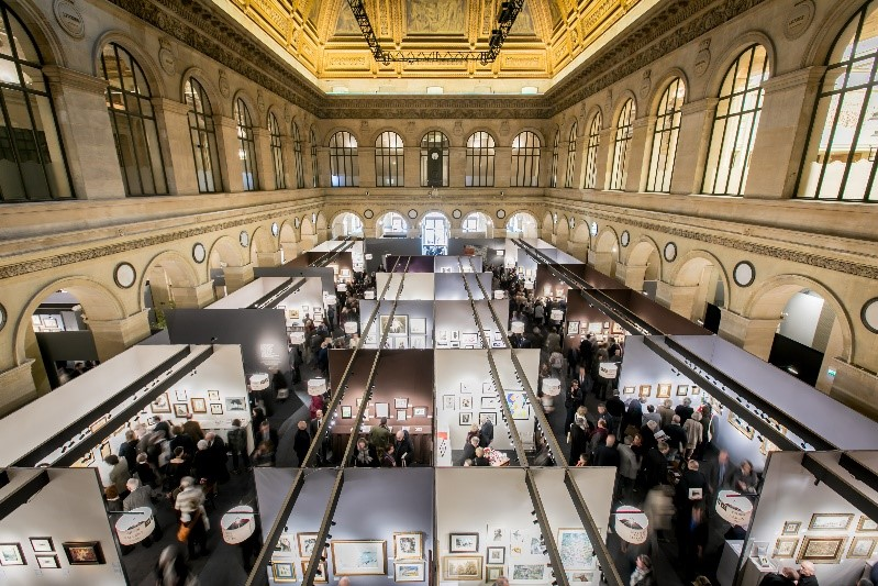 Highlights Of The Salon Du Dessin Antique Collecting