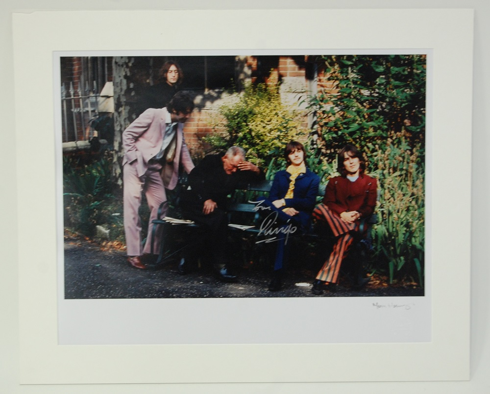 A chromogenic print of The Beatles 'Mad Day',