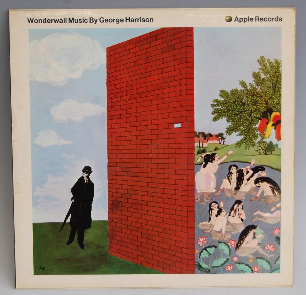 George Harrison, Wonderwall LP vinyl record