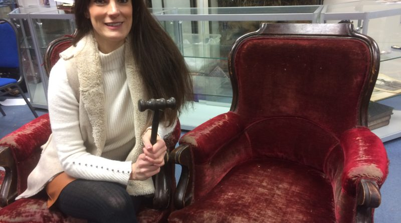 Vintage chairs from Harry Potter and The Philosopher's Stone