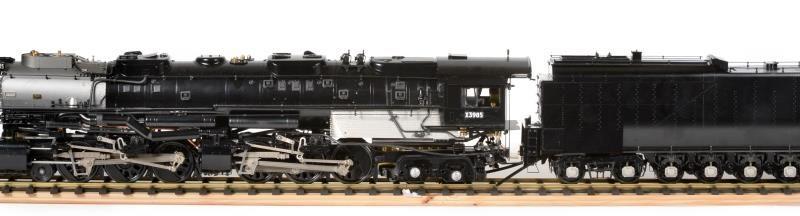 The Union Pacific Challenger model steam train