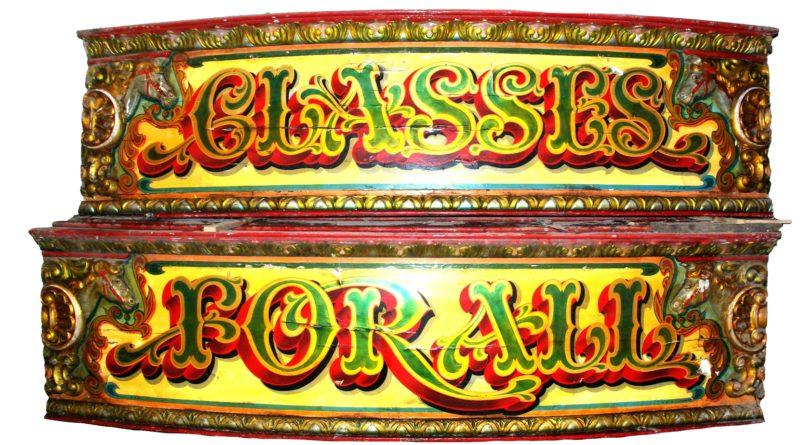 Vintage Fairground memorabilia
