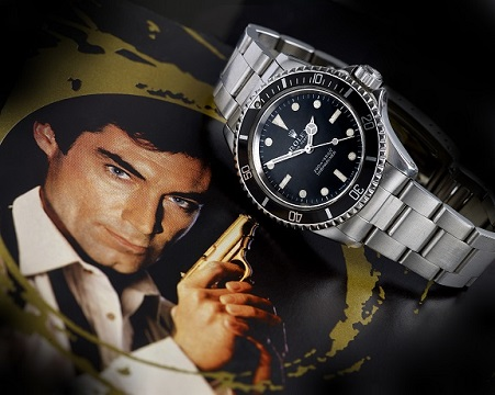 The Rolex Submariner watch from James Bond's Licence to Kill