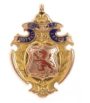Celtic Football Club memorabilia - 1919 League Championship medal 2
