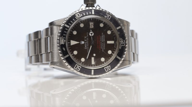 Rare 'Double Red' Rolex sells for £37k at auction in Glasgow