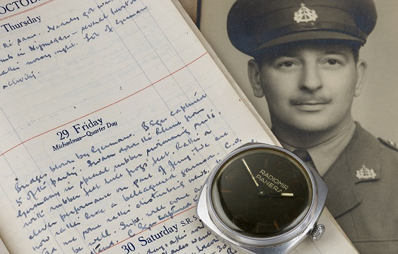 The Panerai diver's watch from WWII