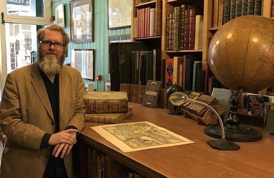 Map expert Tim Bryars