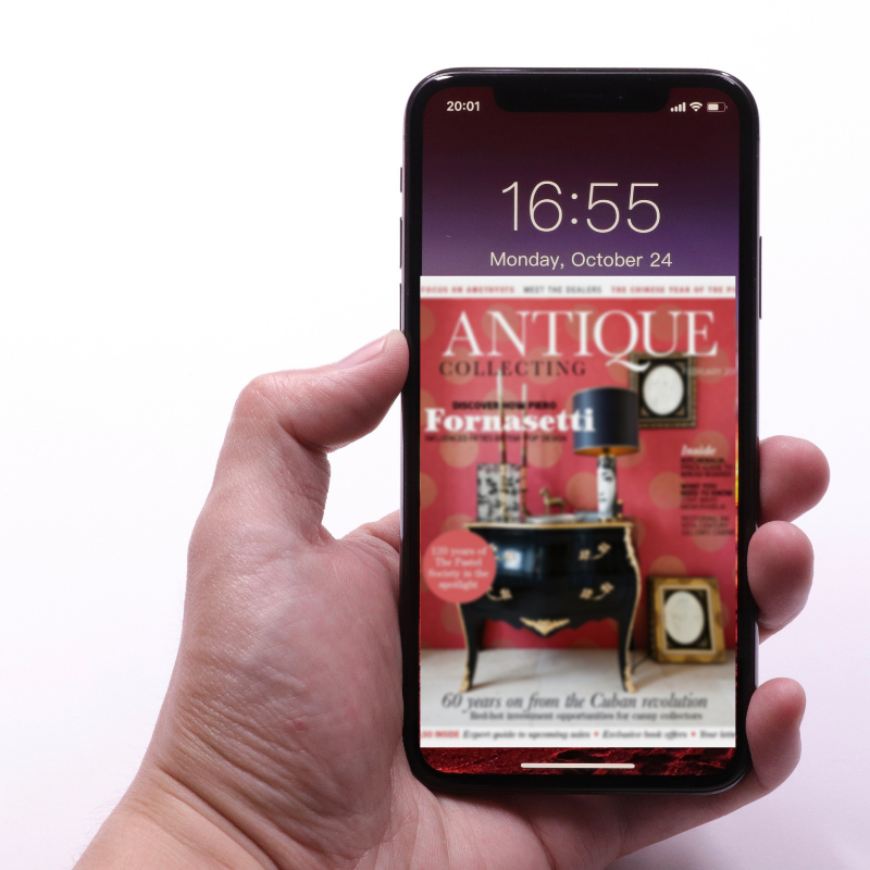 Subscribe to Antique Collecting over the phone