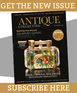 Antique Collecting magazine September 2019 issue
