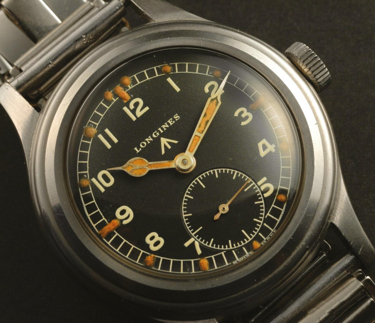 The Longines WWW military watch