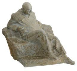 The Winston Churchill maquette