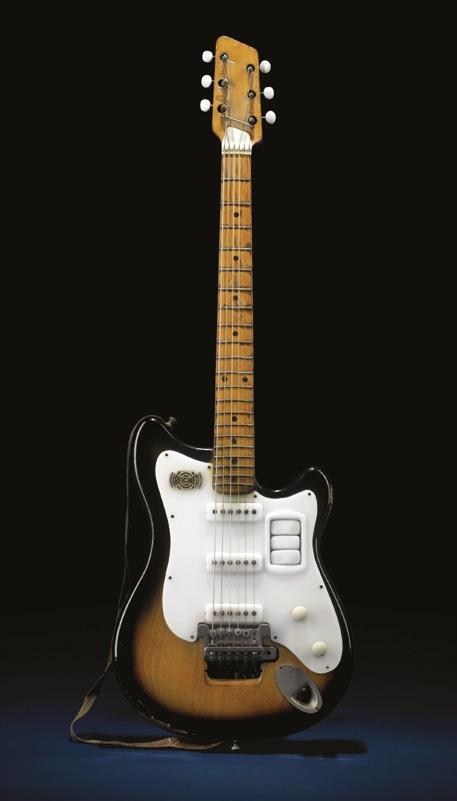 George Harrison Futurama guitar