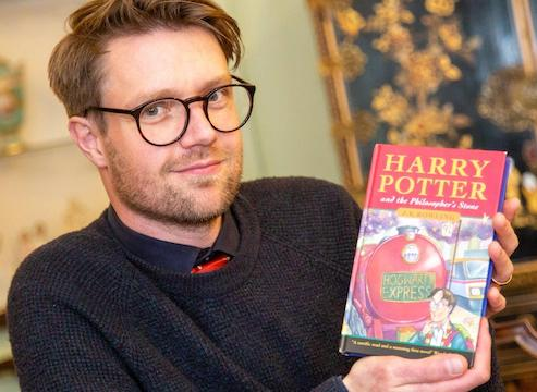 The first edition Harry Potter and the Philosopher's Stone