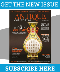 November 2019 issue of Antique Collecting magazine