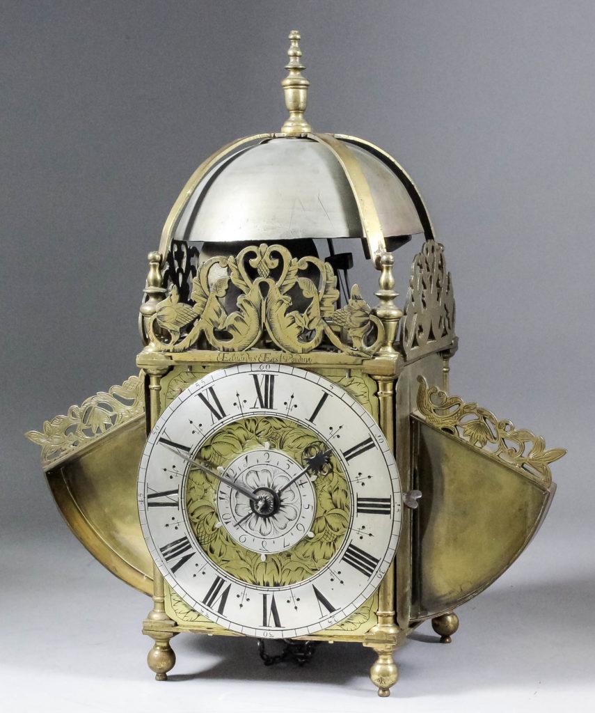 Edward East lantern clock