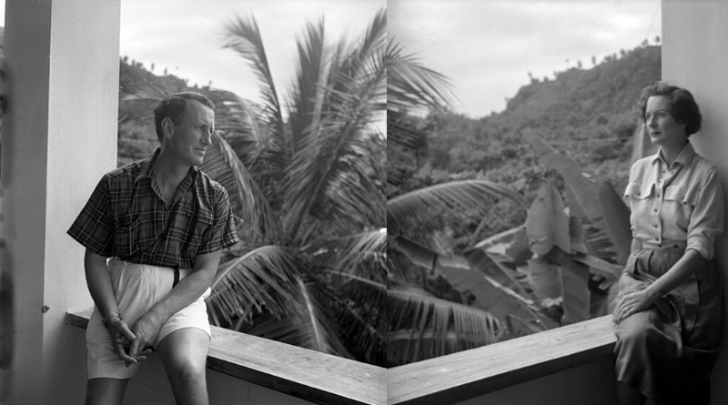 Ian Fleming and his wife Ann