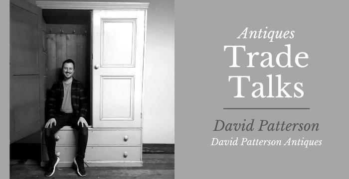 Antiques dealer David Patterson