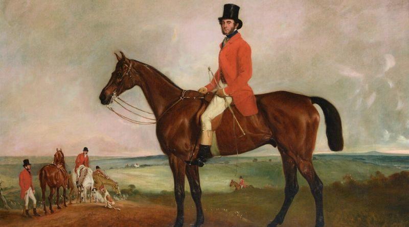 Portrait of Sir Francis Grant by John Ferneley Snr