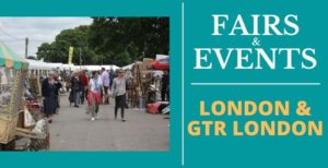 Antiques Fairs and events in London