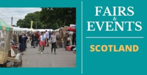 Antique Fairs and Events in Scotland