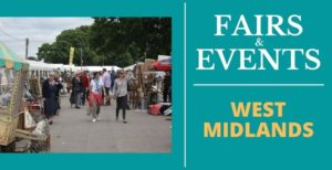 Antique Fairs and Events in West Midlands