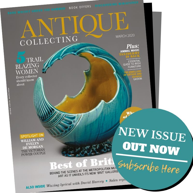 March 2020 issue of Antique Collecting magazine