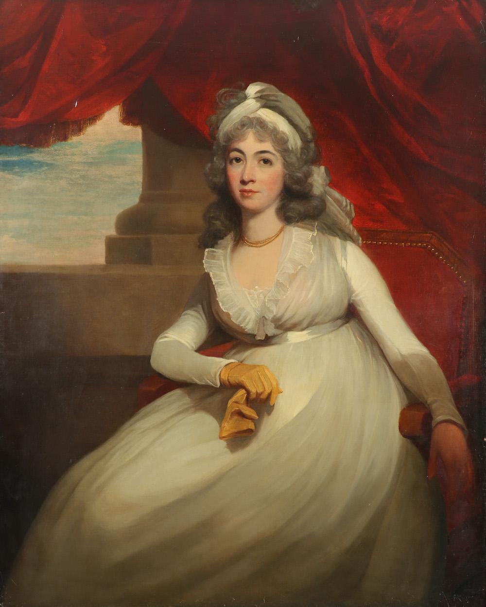 Anne, Duchess of Cumberland (1743-1808) by Sir William Beechey RA