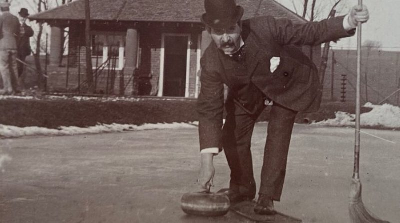 The historic curling stones are over a hundred years old