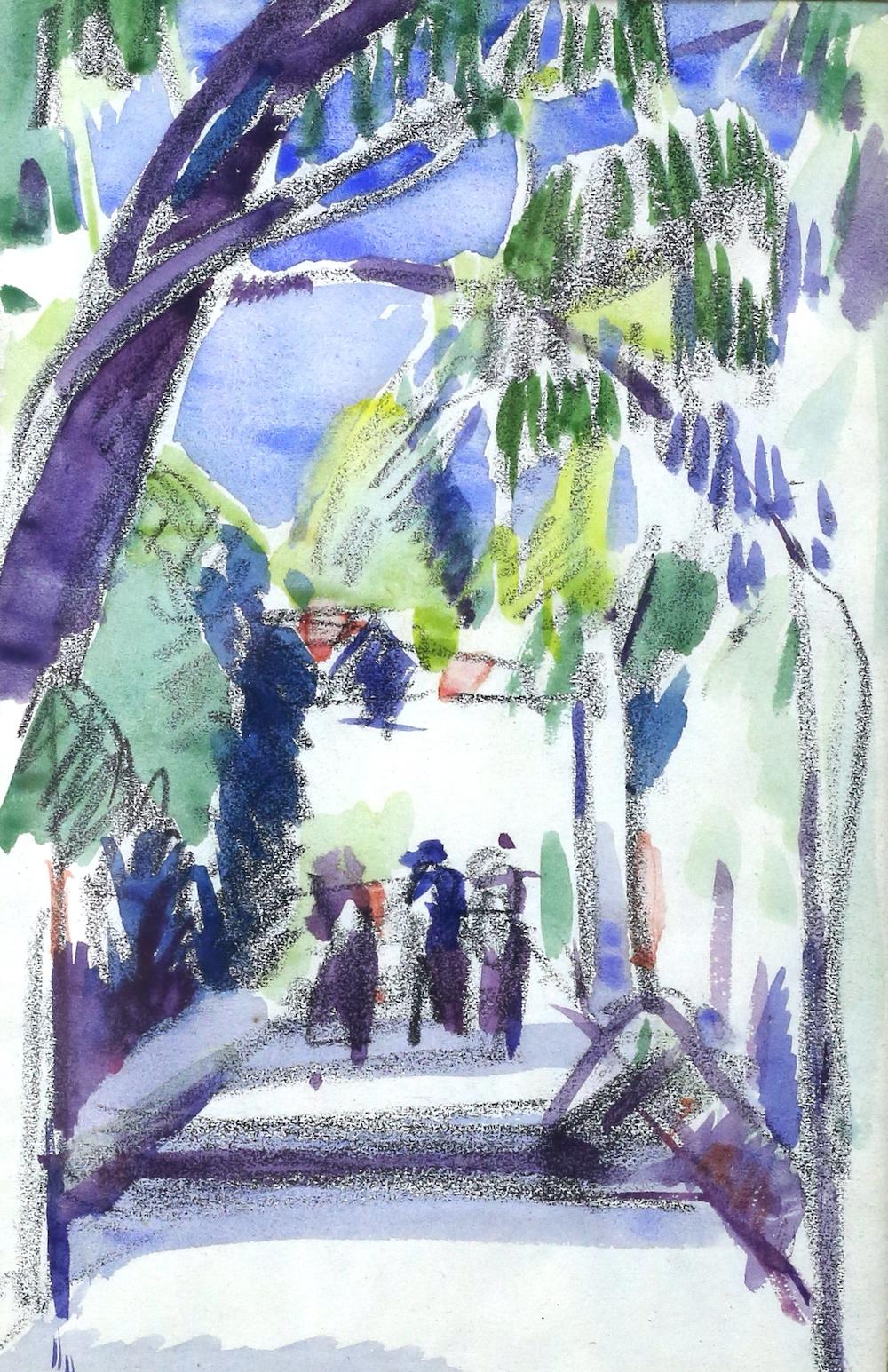 John Duncan Fergusson - Antibes