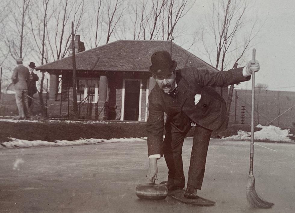 Partick Curling Club circa 1904