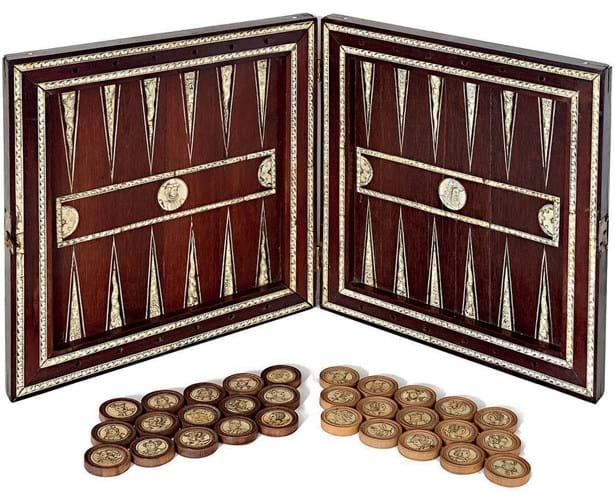 16th-century game board