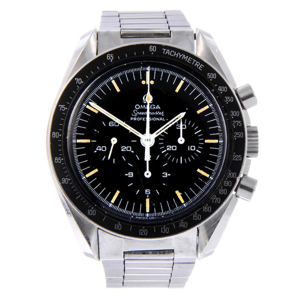 Omega wrist watch in Fellows' sale