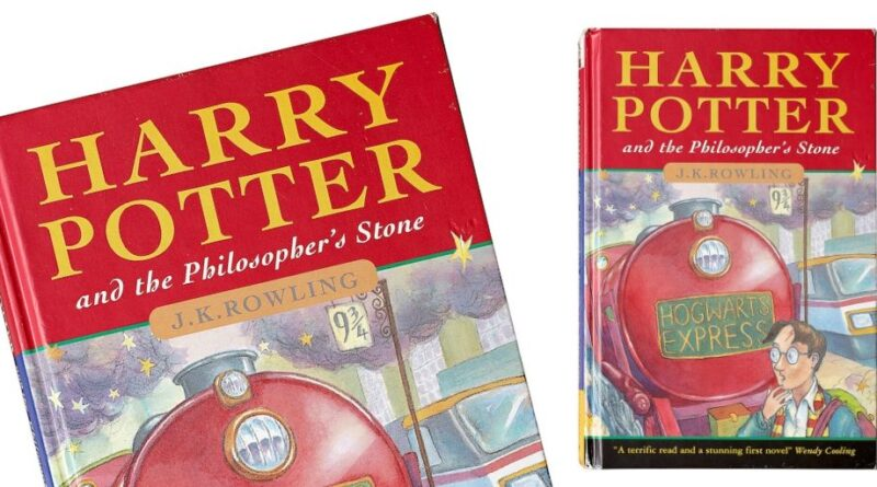 First edition Harry Potter and the Philosopher's Stone