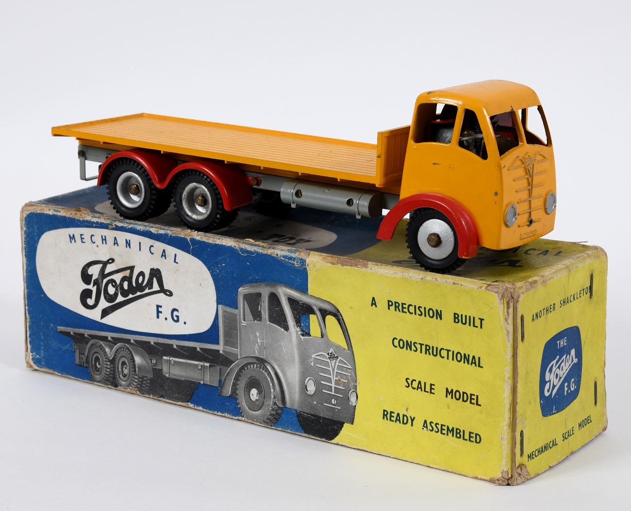 Shackleton Foden lorry