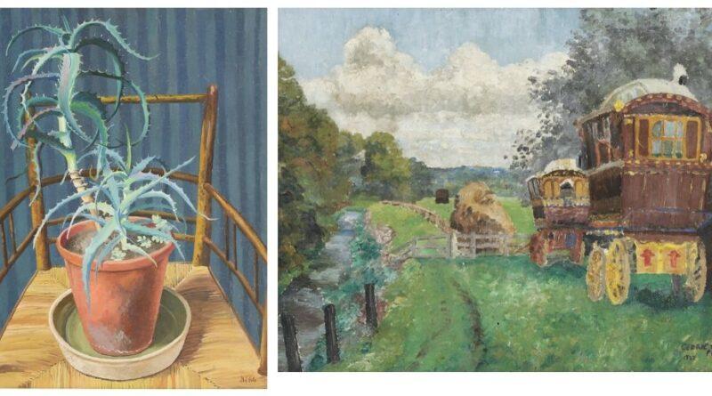 Painting in Sworders' Modern British Art sale