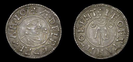 Aethelred II coin