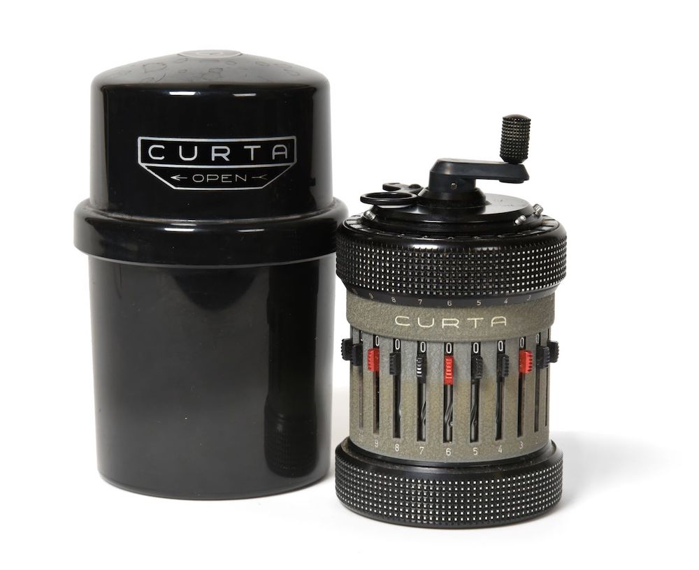 A Curta Type II Calculator