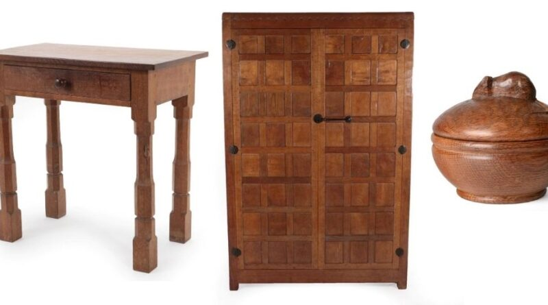 furniture from Robert 'Mouseman' Thompson