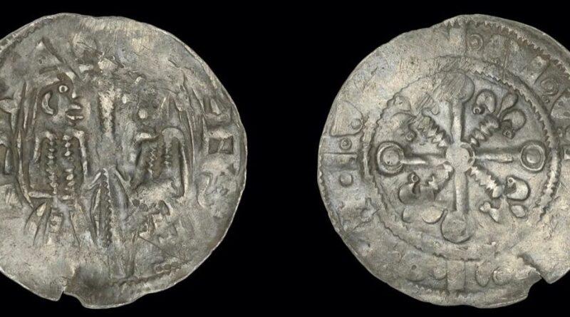 Rare Stephen and Matilda coin