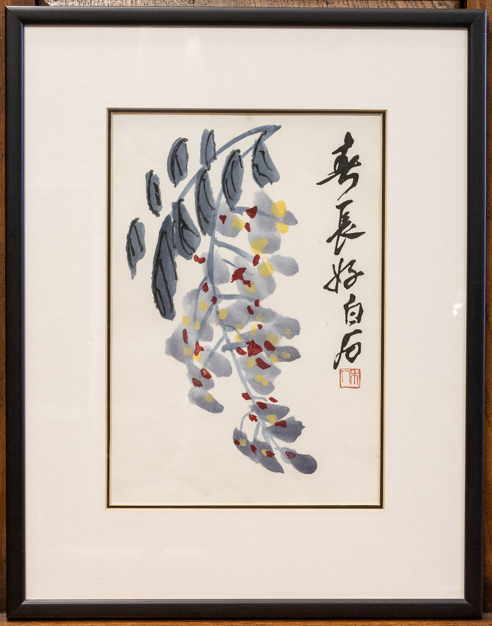 Painting by Chinese artist Qi Baishi