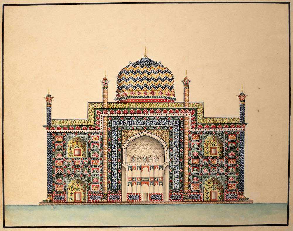 Indian water colour paintings