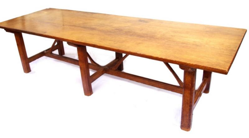 An Ernest Gimson refectory table