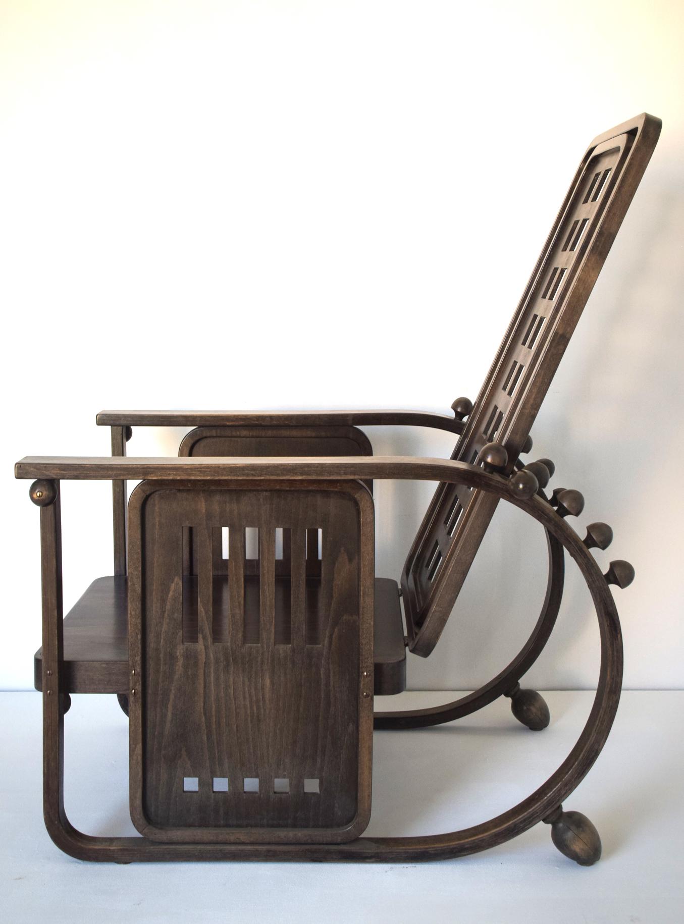 Hoffman style armchair