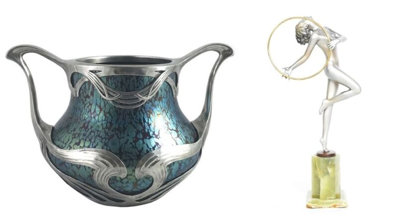 Objects in virtual showcase Winter Art and Antiques Fair